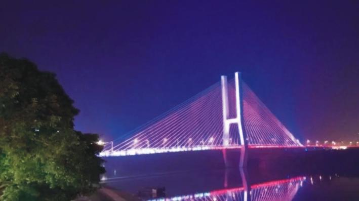 四川南充三桥
